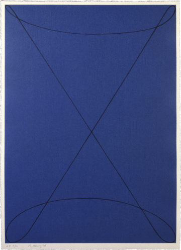 Robert Mangold – Untitled-1995 – editions of art